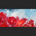 Lying in poppies